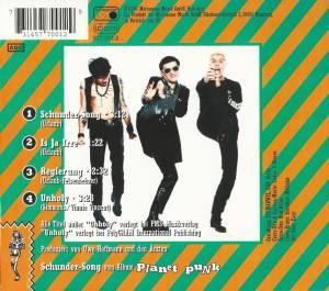 Die Ärzte: Ein Song Namens Schunder (Single-CD) - Bild 2