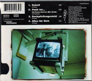 Die Ärzte: Rebell (Single-CD) - Bild 2