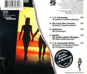 Die Ärzte: 1/2 Lovesong (Single-CD) - Bild 2