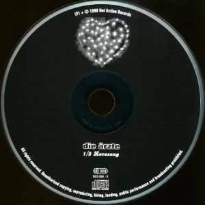 Die Ärzte: 1/2 Lovesong (Single-CD) - Bild 3