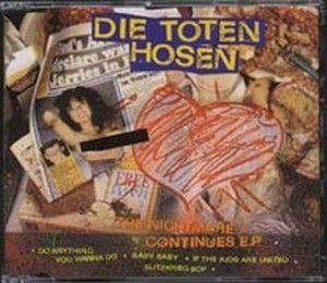 Die Toten Hosen: Nightmare Continues E.P., The - Cover