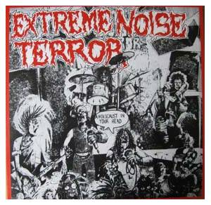 Extreme Noise Terror: Holocaust In Your Head, A - Cover