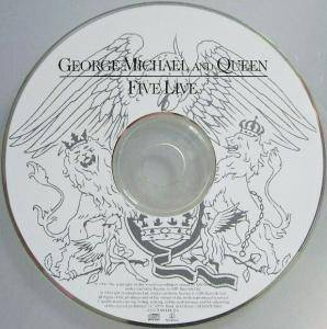 George Michael / Queen / George Michael, Queen, Lisa Stansfield / George Michael & Queen: Five Live (Split-Mini-CD / EP) - Bild 3