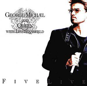 George Michael: Five Live - Cover