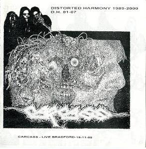 Cover - Cenotaph: Distorted Harmony 1989-2000