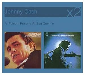 Johnny Cash: At Folsom Prison / At San Quentin - Cover