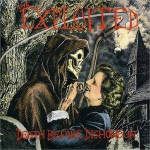 The Exploited: Death Before Dishonour - Cover
