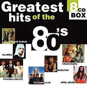 Greatest Hits Of The 80's - Cover
