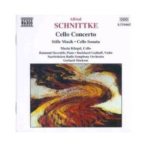 Cover - Alfred Schnittke: Cello Concerto / Stille Musik / Cello Sonata