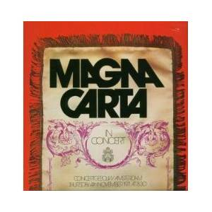 Magna Carta: In Concert - Cover