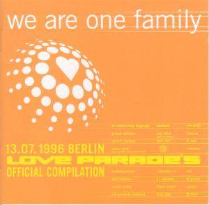 Love Parade Compilation 1996 We Are One Family - Cover