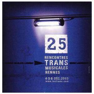 25 Rencontres Trans Musicales Rennes - Cover