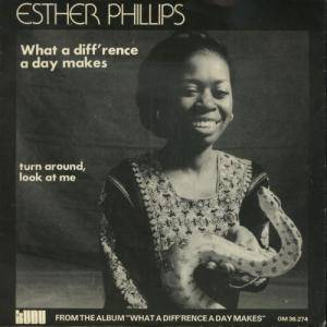 Esther Phillips: What A Diff'rence A Day Makes - Cover