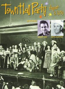 Town Hall Party August 8, 1959 - Cover