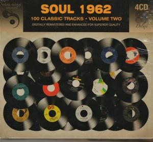 Soul 1962 - 100 Classic Tracks Volume Two - Cover