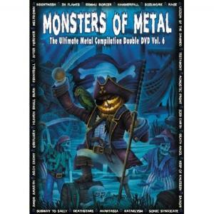Monsters Of Metal Vol. 6 - Cover