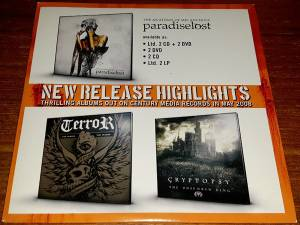Cover - Cryptopsy: Thrilling Albums Out On Century Media Records In May 2008
