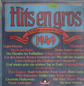 Hits En Gros 1949 (28 Schlager Am Laufendem Band) - Cover