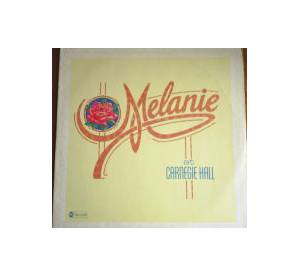Melanie: At Carnegie Hall - Cover