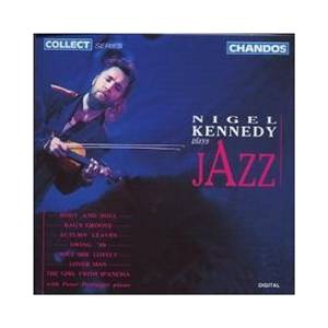 Cover - Nigel Kennedy: Nigel Kennedy Plays Jazz