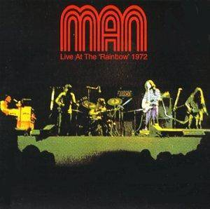 Man: Live At The Rainbow 1972 - Cover