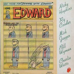 Nicky Hopkins, Ry Cooder, Mick Jagger, Bill Wyman, Charlie Watts: Jamming With Edward - Cover