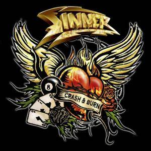 Sinner: Crash & Burn - Cover