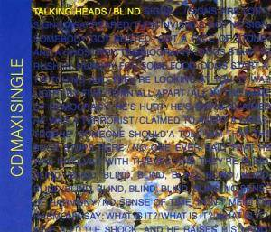 Talking Heads: Blind - Cover
