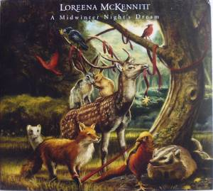 Loreena McKennitt: Midwinter Night's Dream, A - Cover