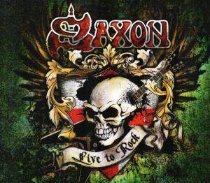 Saxon: Live To Rock - Cover