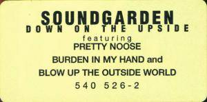 Soundgarden: Down On The Upside (CD) - Bild 8