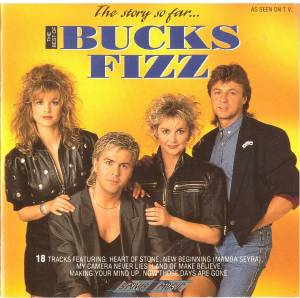 Bucks Fizz: Story So Far... The Best Of Bucks Fizz, The - Cover