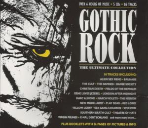 Gothic Rock: The Ultimate Collection - Cover