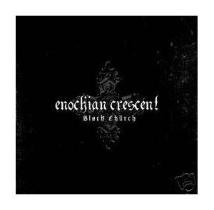 Enochian Crescent: Black Church - Cover
