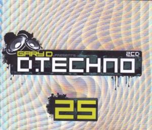 Gary D. Presents D-Techno 25 - Cover