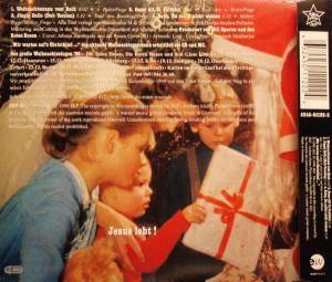 Die Roten Rosen: Weihnachtsmann Vom Dach (Single-CD) - Bild 2