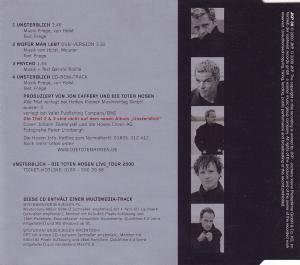 Die Toten Hosen: Unsterblich (Single-CD) - Bild 2