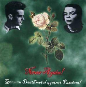 Cover - Fearer: Never Again! German Deathmetal Against Fascism!