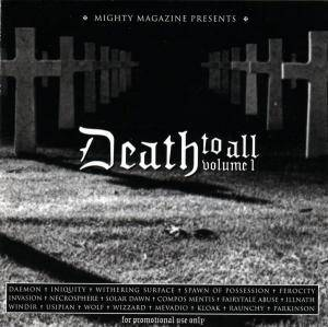 Death To All Volume 1 - Cover