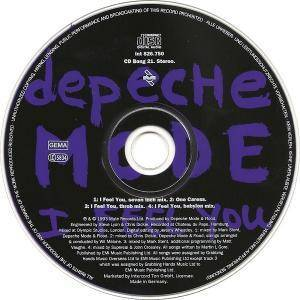 Depeche Mode: I Feel You (Single-CD) - Bild 4