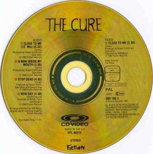 The Cure: Close To Me (CD Video) - Bild 3