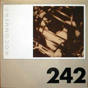 Front 242: No Comment - Cover