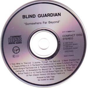 Blind Guardian: Somewhere Far Beyond (CD) - Bild 3