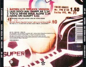 Die Toten Hosen: Bayern (Single-CD) - Bild 2