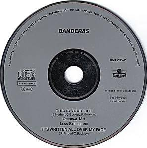 Banderas: This Is Your Life (Single-CD) - Bild 2