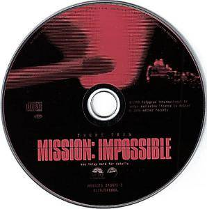 Adam Clayton & Larry Mullen: Theme From Mission: Impossible (Single-CD) - Bild 2