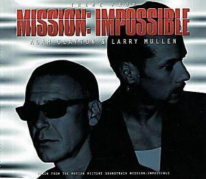 Adam Clayton & Larry Mullen: Theme From Mission: Impossible (Single-CD) - Bild 1