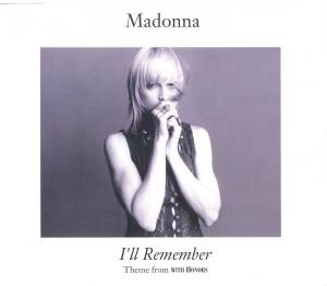 Madonna: I'll Remember - Cover
