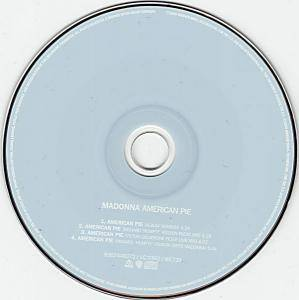 Madonna: American Pie (Single-CD) - Bild 2
