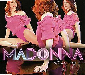 Madonna: Hung Up - Cover